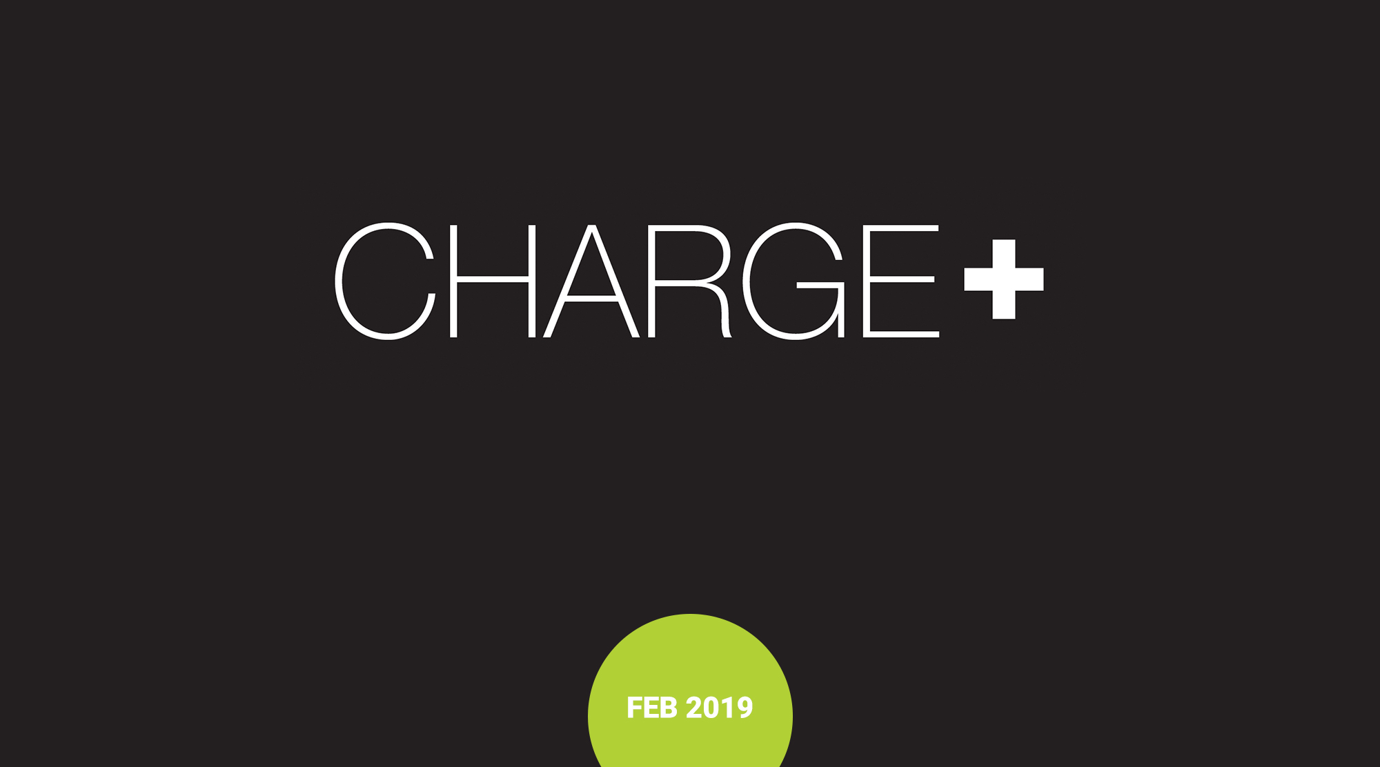 CHARGE+ plain image of logo